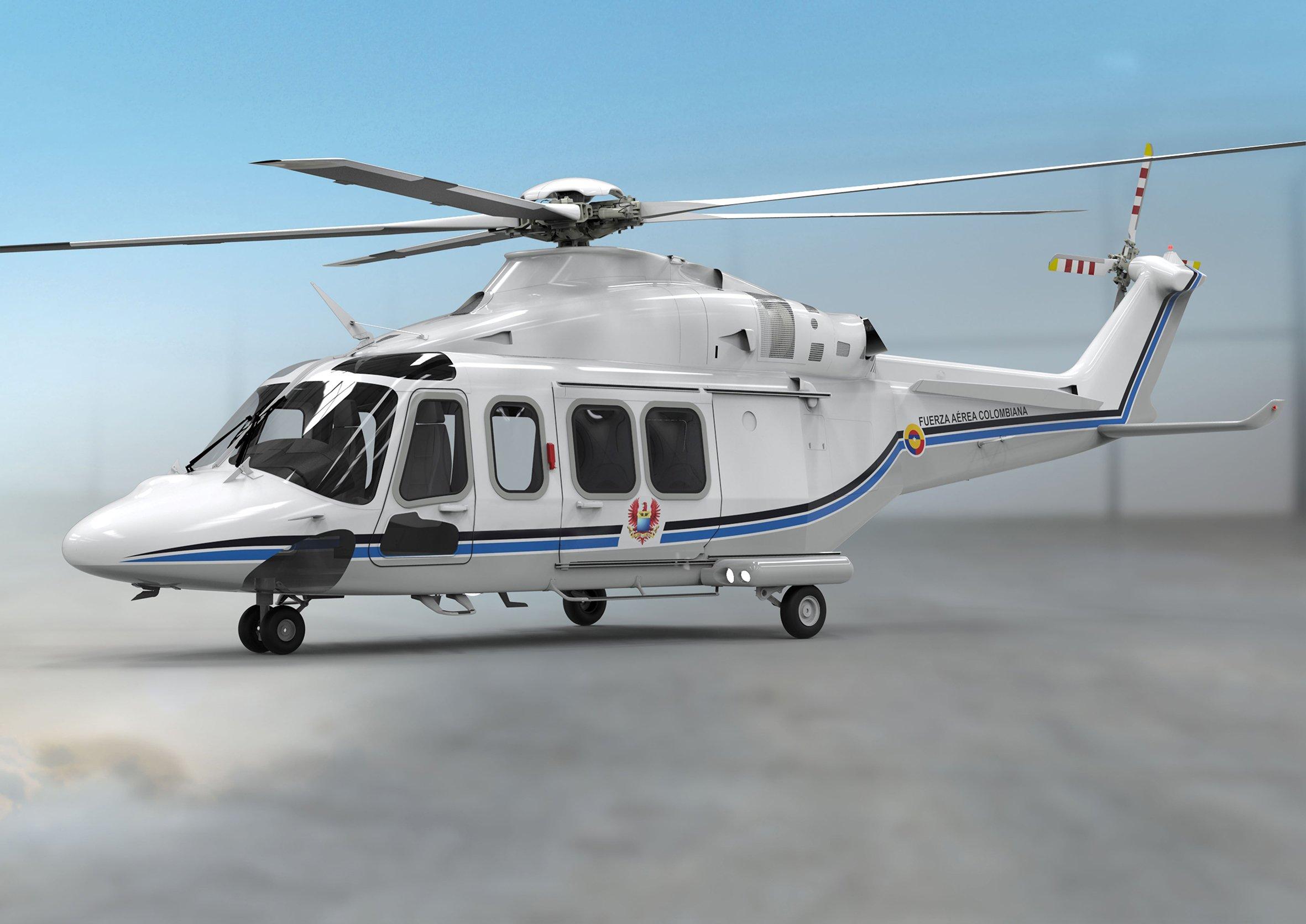 Colombian Air Force AW139 VVIP [Leonardo]