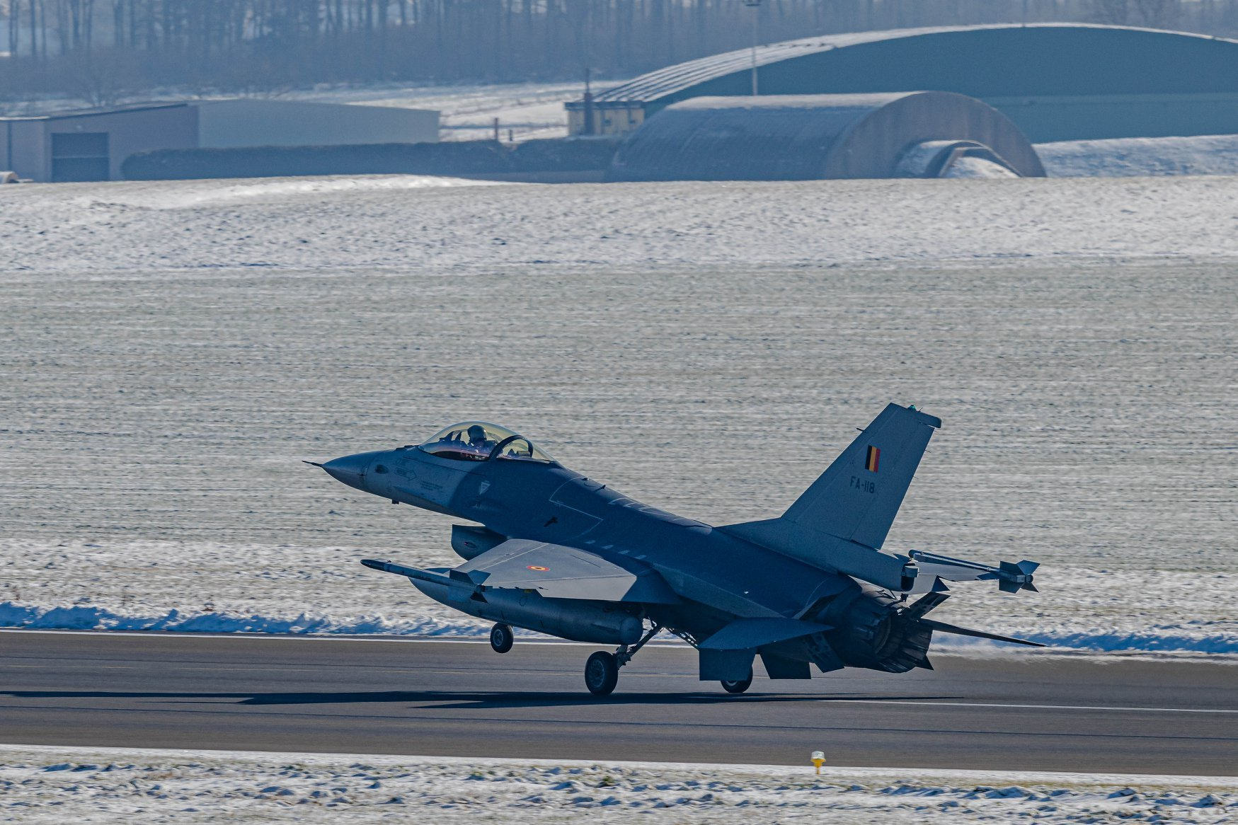 Belgian F-16AM (MLU) [Belgian Air Component via Facebook]