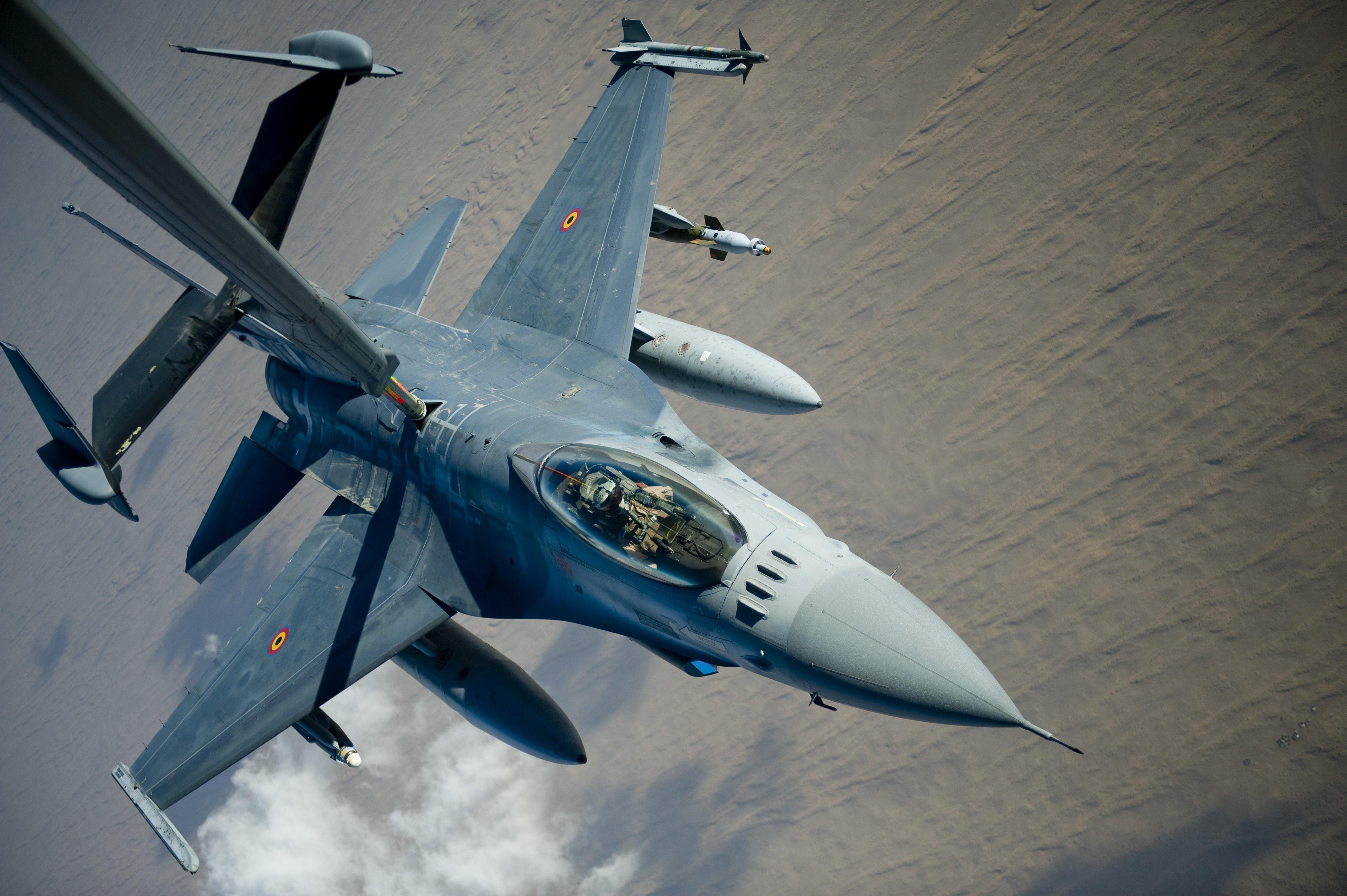 Belgian F-16AM (MLU) [USAF/Staff Sgt Greg Biondo]