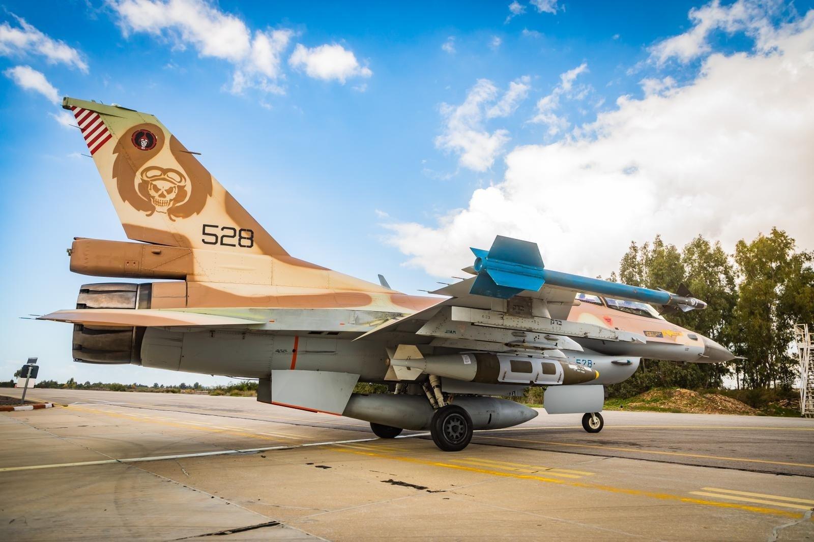 Israeli F-16C Barak [Israeli Air Force/Amit Agronov]