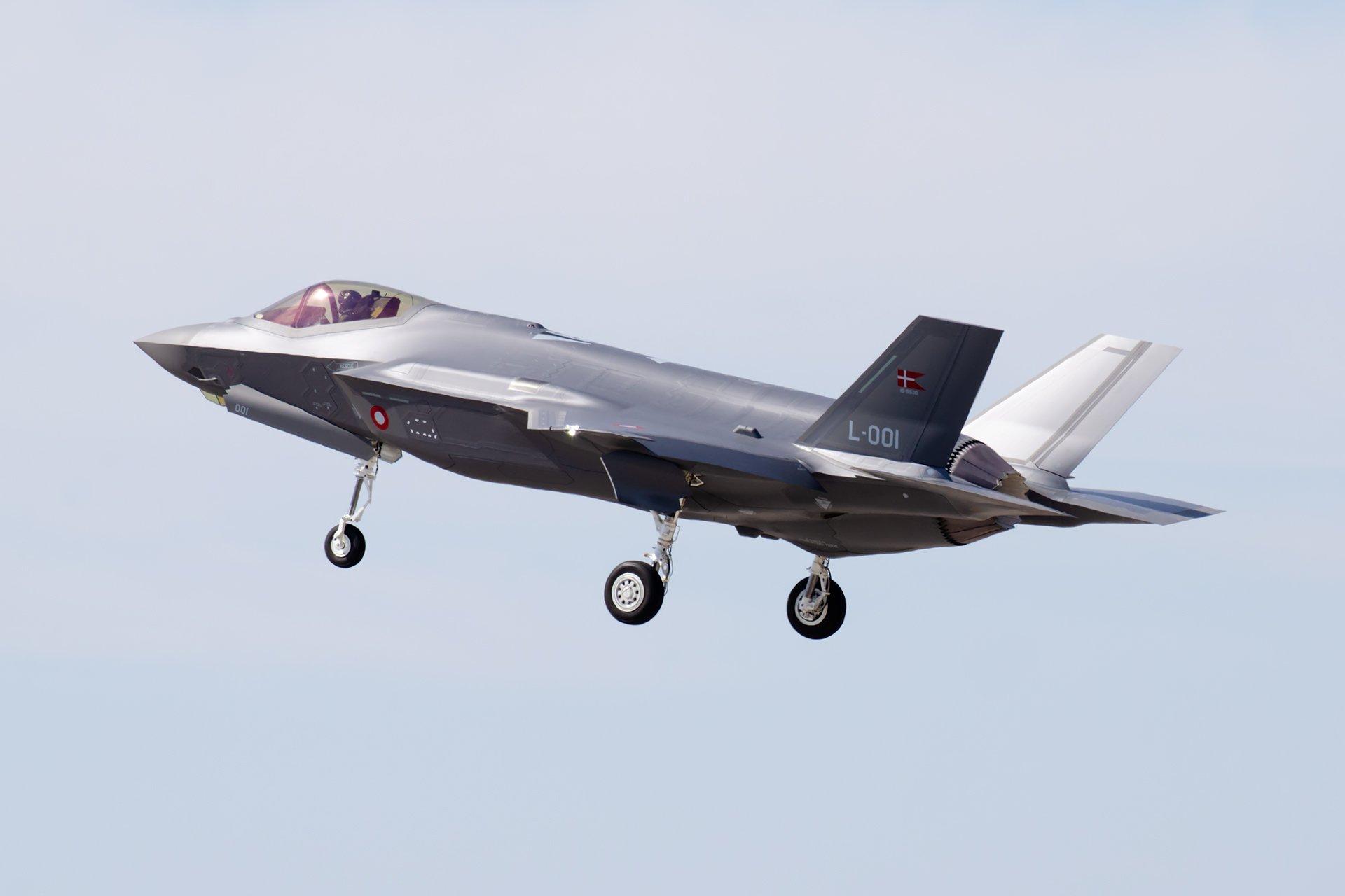 Danish F-35A [Brandon Thetford]