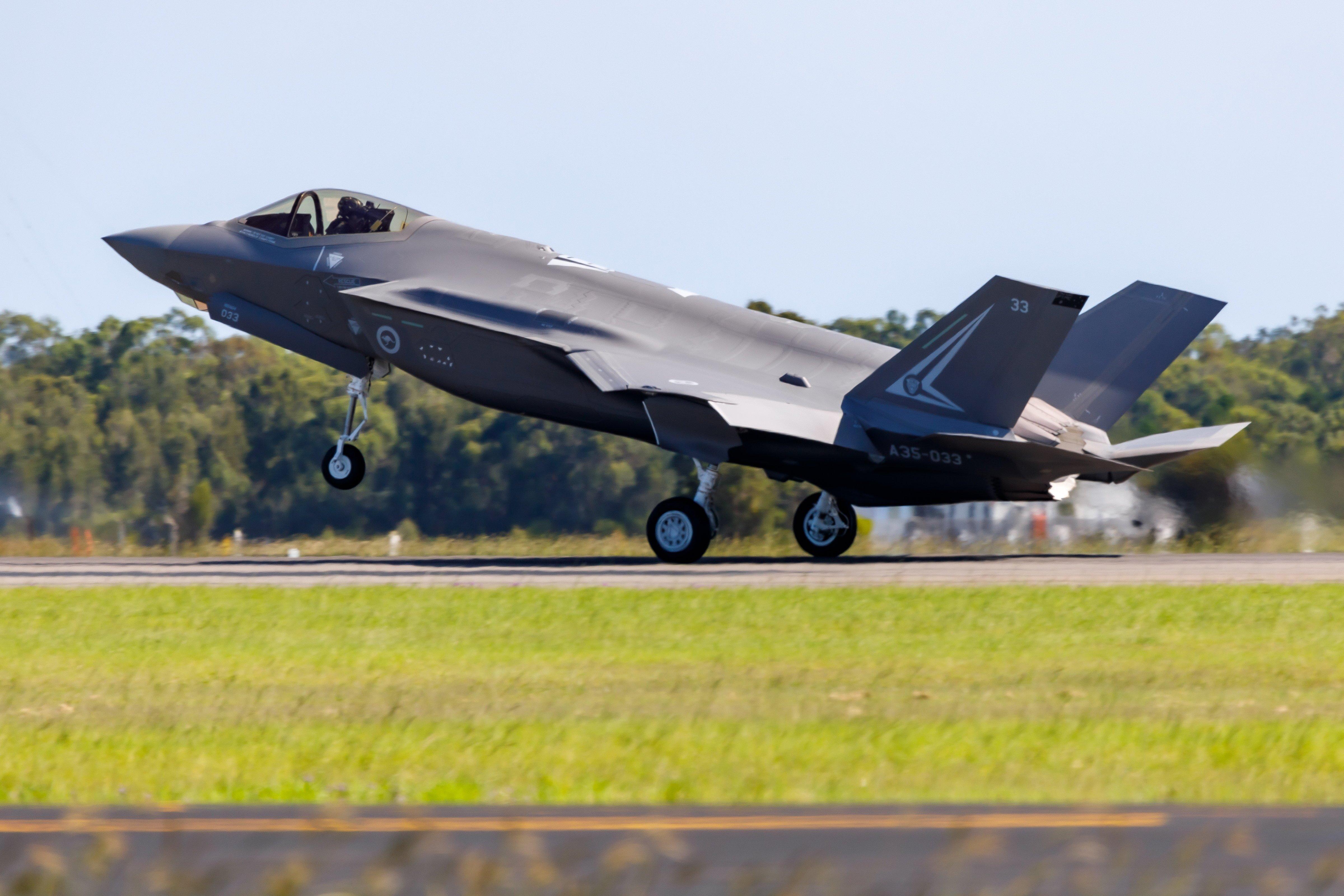 RAAF F-35A [Commonwealth of Australia - Department of Defence/Cpl Craig Barrett]