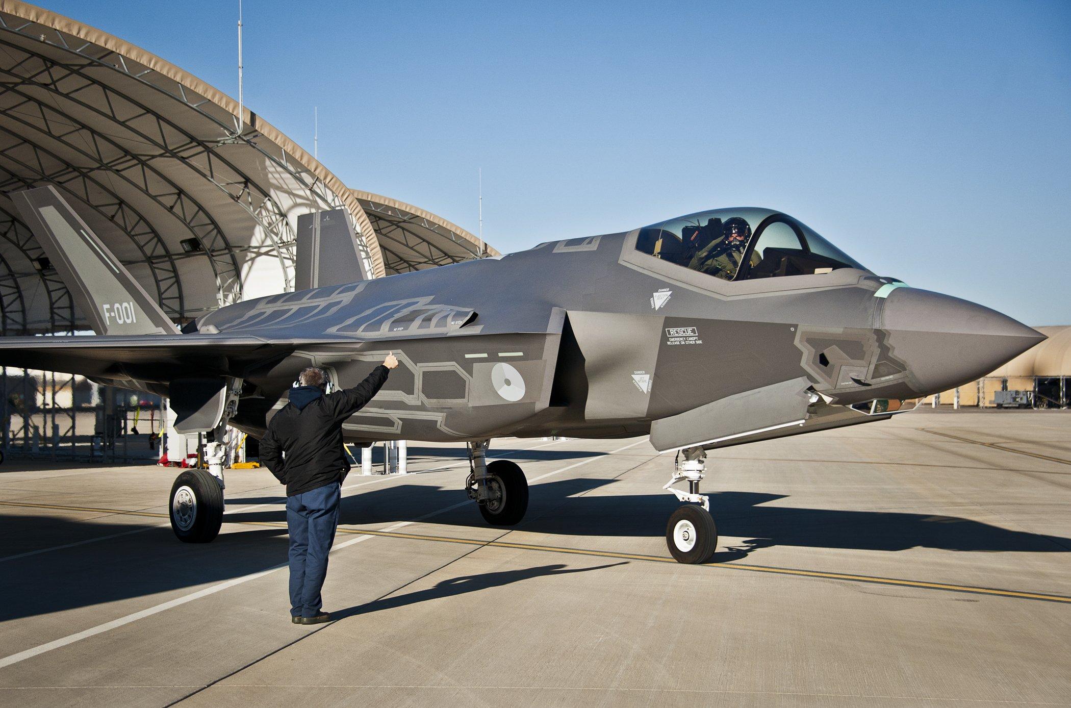 Dutch F-35A [USAF/Samuel King Jr]