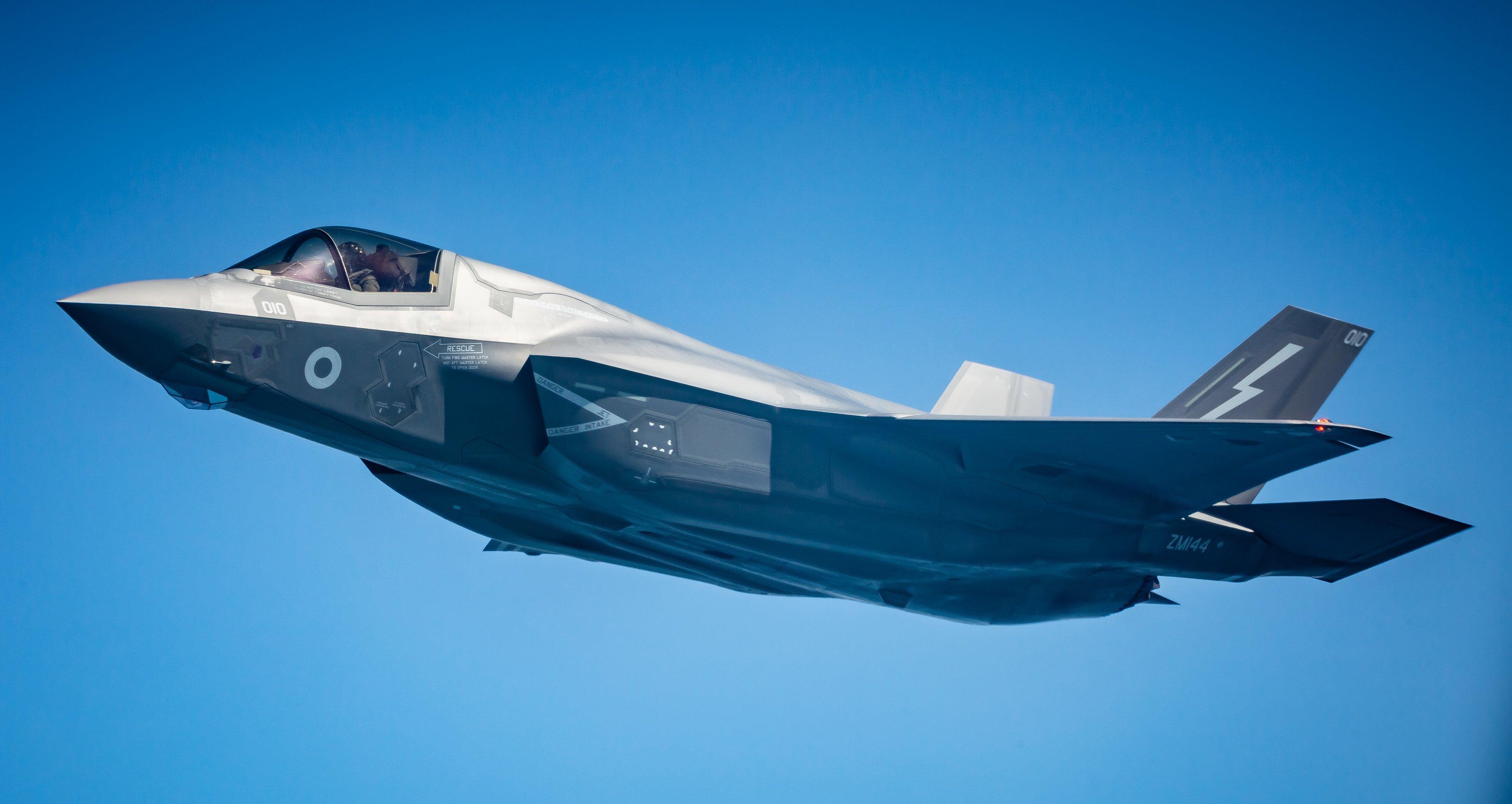 F-35B [MoD Crown Copyright/Sgt 'Matty' Matthews]