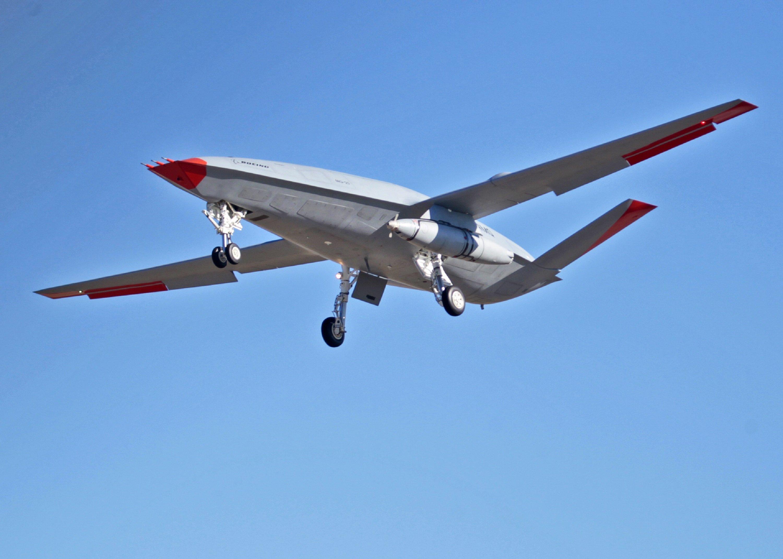 MQ-25 with Cobham ARS [Boeing]
