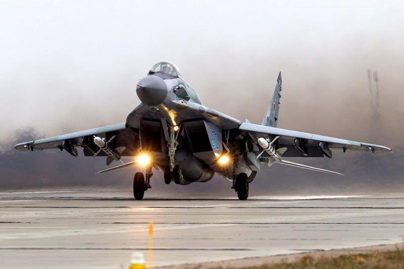 Russian MiG-29SMT Astakan