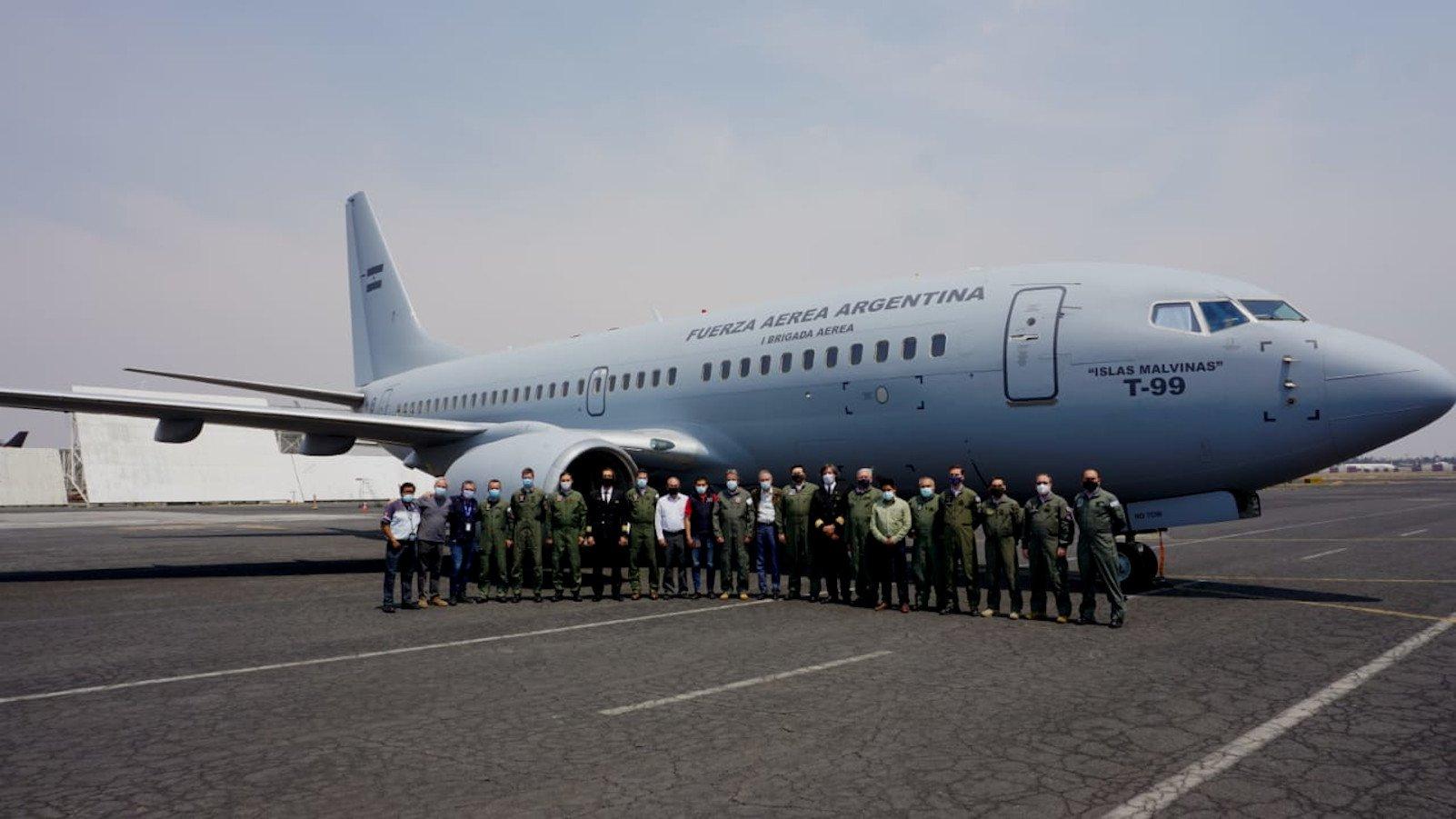 Argentine Boeing 737-76N(W) [Argentine Ministry of Defence]