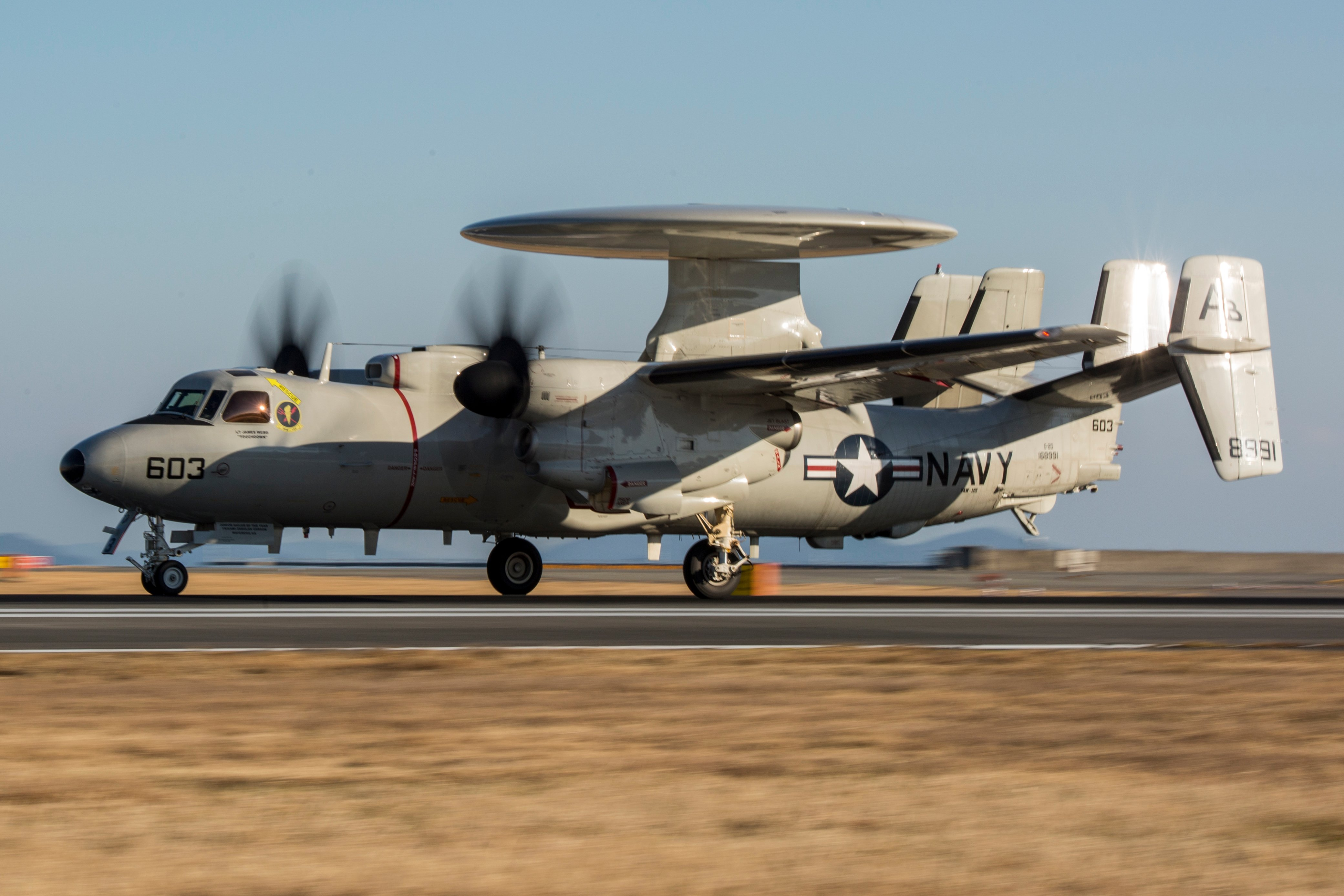 E-2D Advanced Hawkeye [USMC/Cpl Aaron Henson]