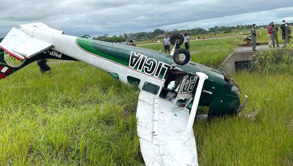 Peruvian Police U206G Stationair 6 II Crash [Peruvian National Police]