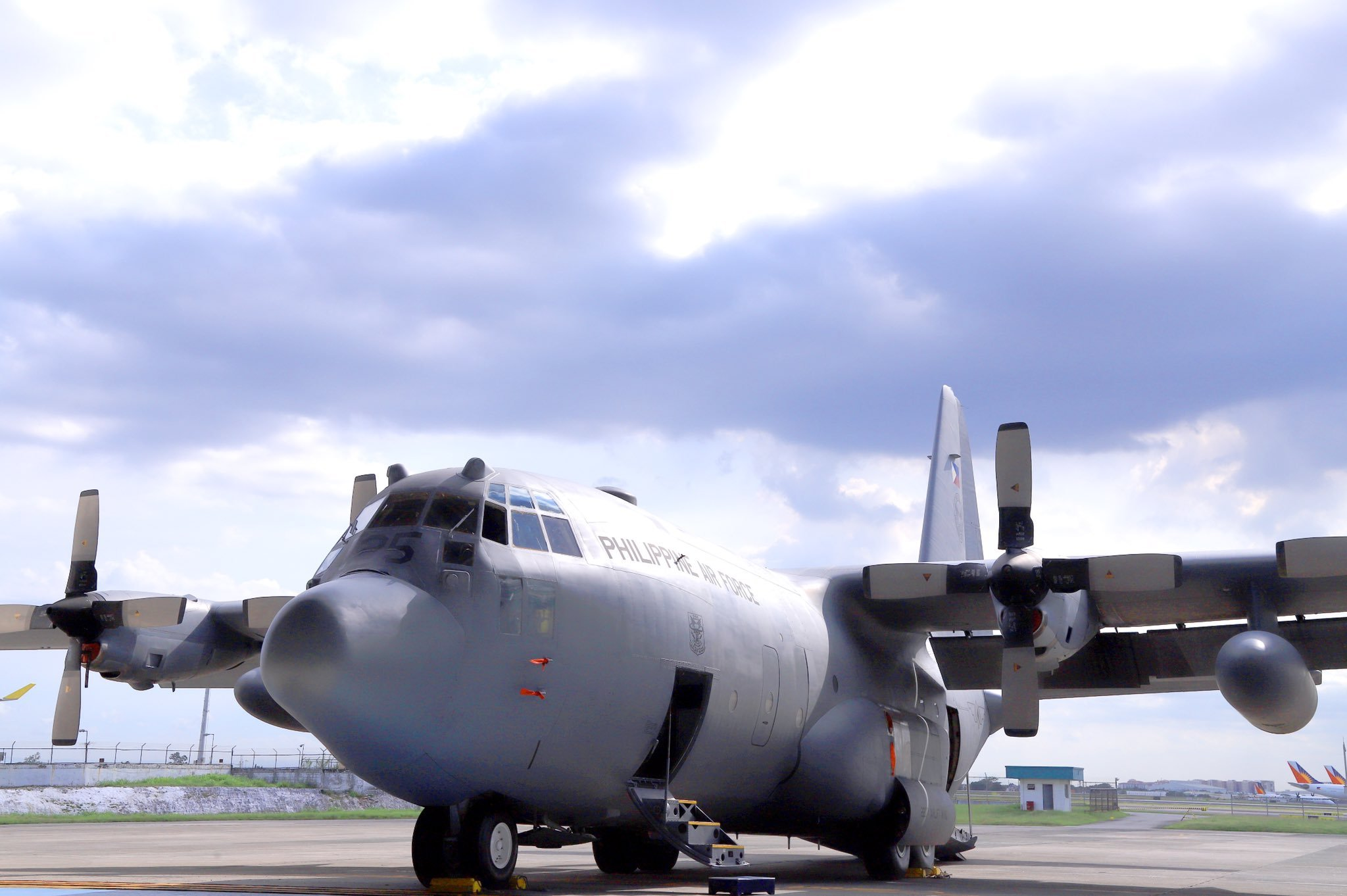 First EDA C-130H inducted into Philippine AF service [Philippine Air Force]