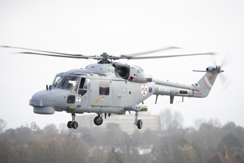 Portuguese Navy Lynx Mk95A