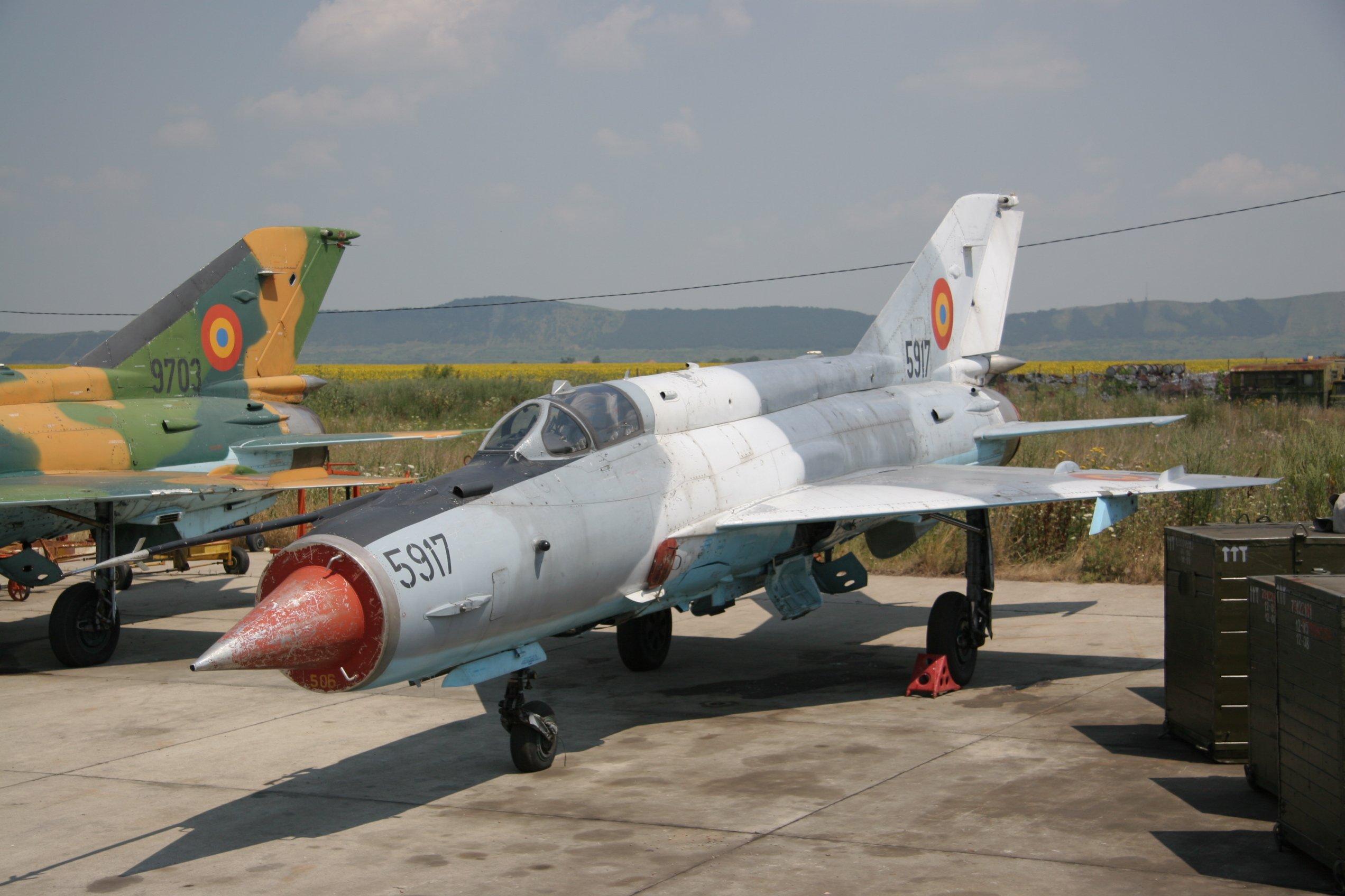 MiG-21 LanceR-C [Alan Warnes]