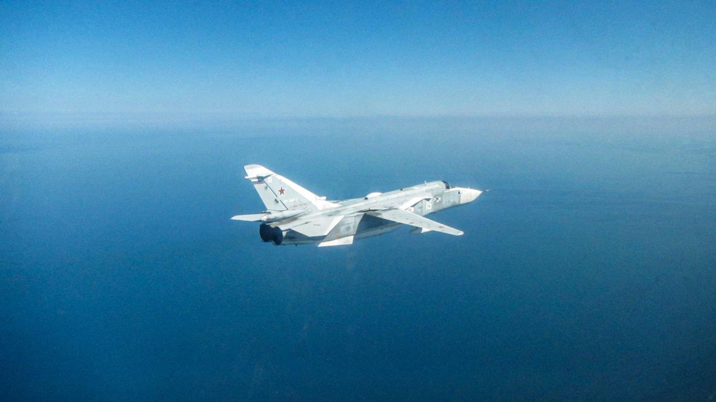 Russian Su-24 over Black Sea 17-08-21 [MOD Crown Copyright]