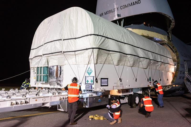 SBIRS arrives at Cape Canaveral