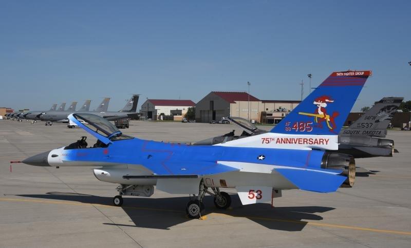 South Dakota ANG F-16 heritage scheme