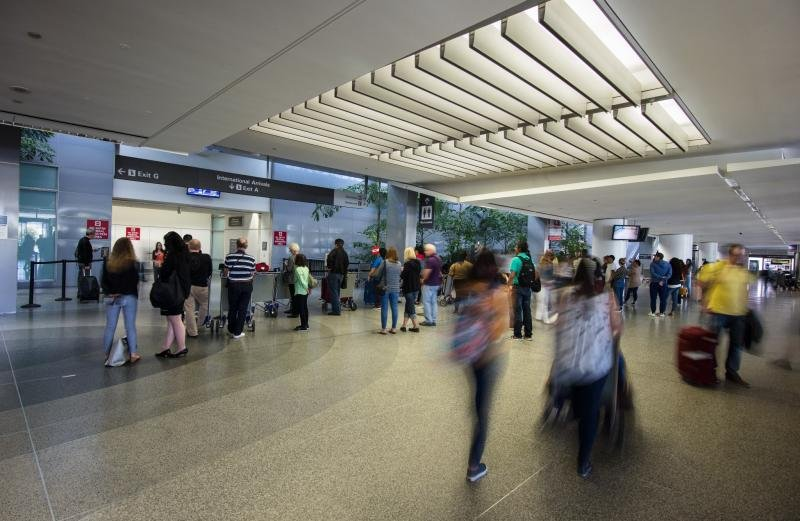SFO international arrivals