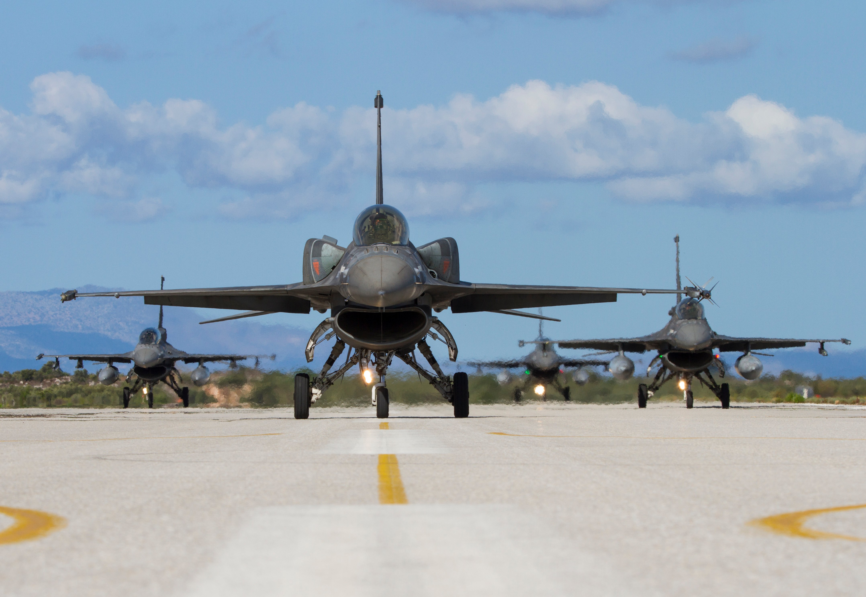 HAF F-16s [George Karavantos]