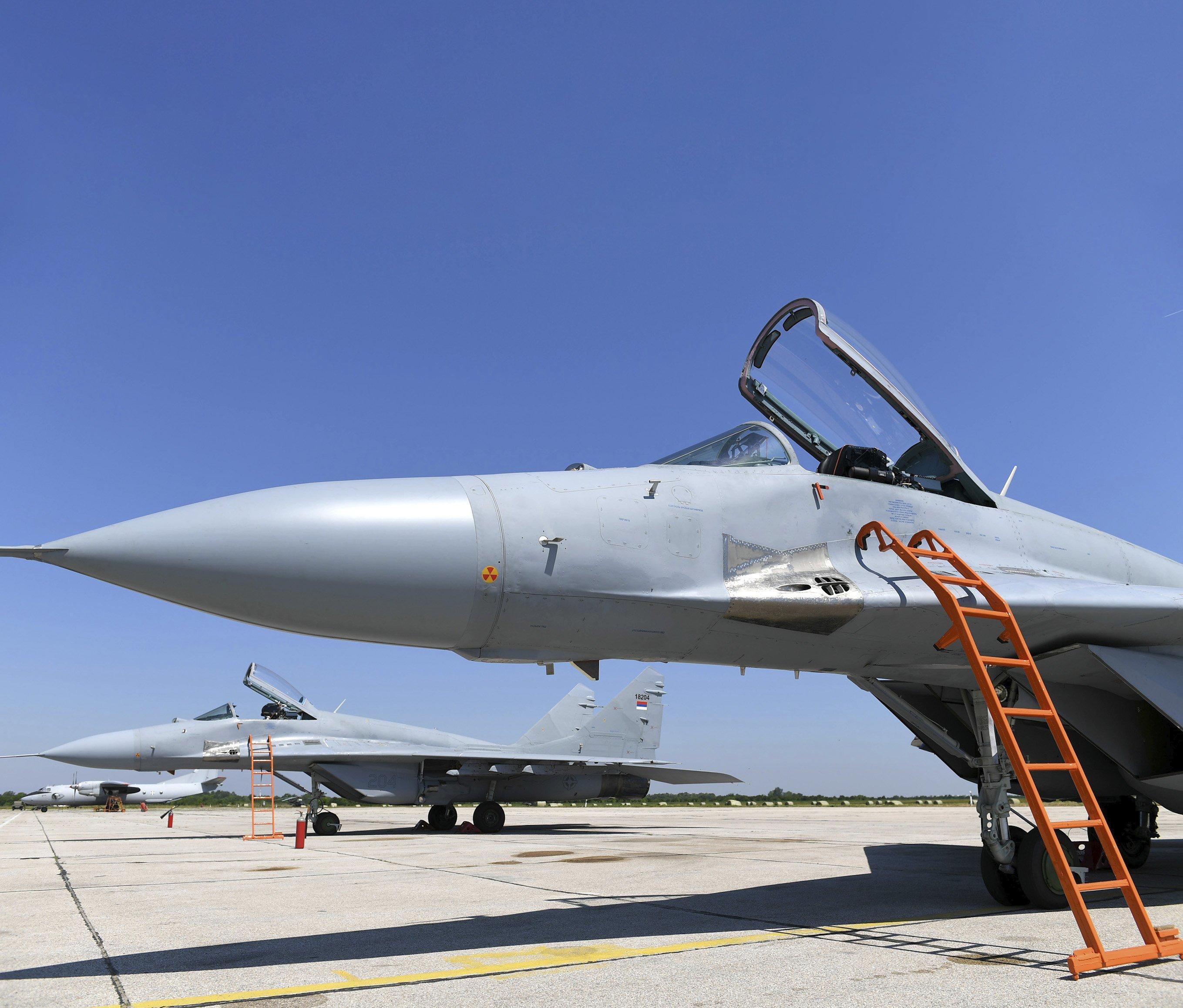 Serbia receives four MiG-29 Fulcrum-Cs from Belarus [Serbian MOD]