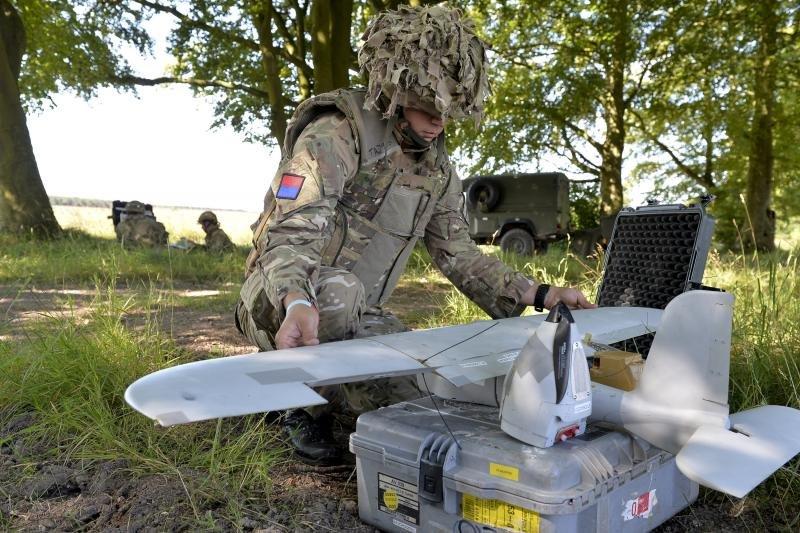 British Army Desert Hawk