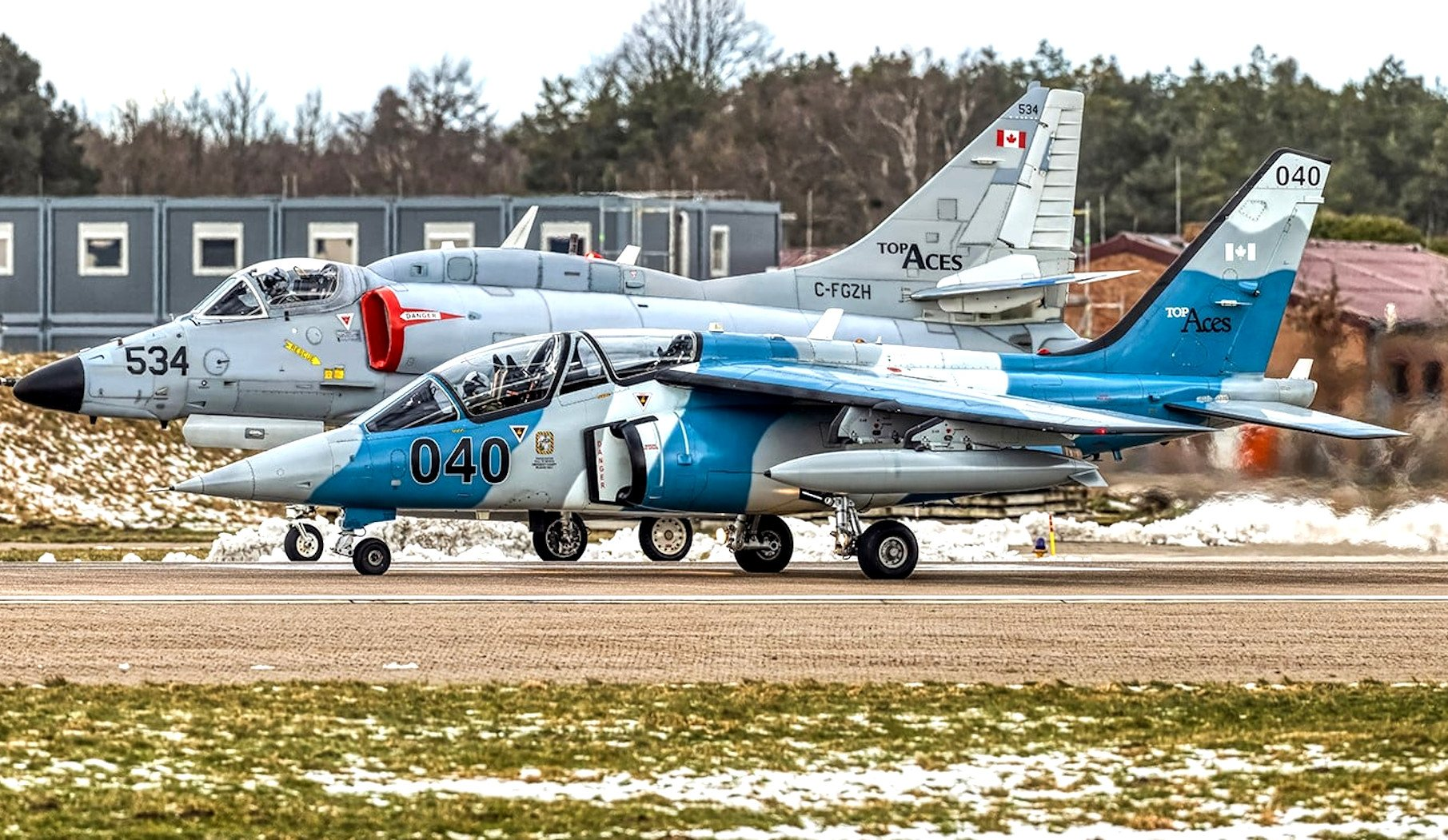 Top Aces Alpha Jet and A-4N Skyhawk [Top Aces]