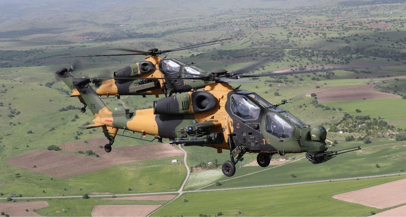 T129 ATAK pair in flight [TUSAS]