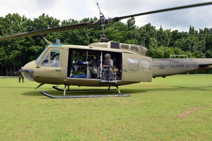 Philippines UH-1H [USAF/Capt Mark Lazane] #1
