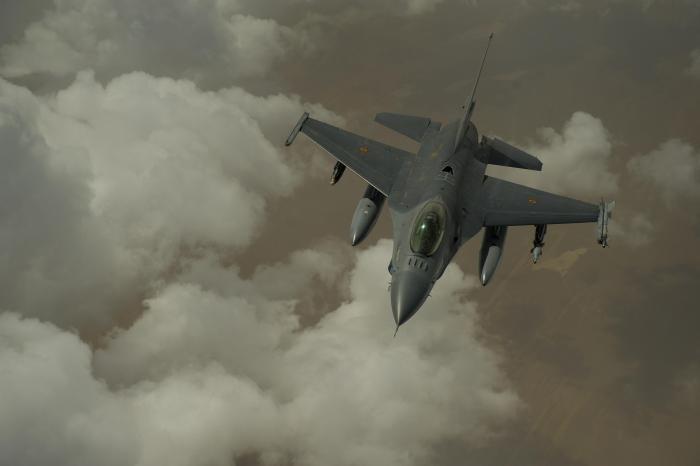 F-16AM (MLU) Fighting Falcon [USAF/MSgt Adrian Cadiz] #1