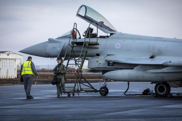 RAF Typhoon Iceland [MoD Crown Copyright]