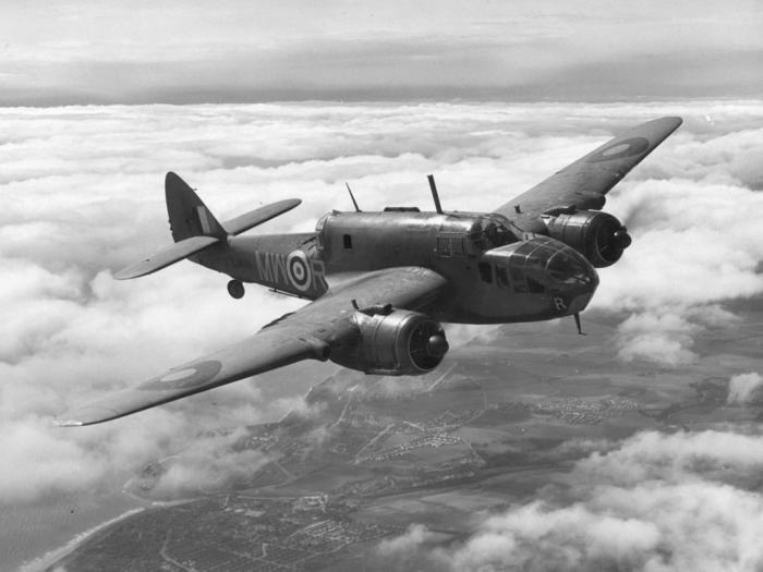 Beaufort in Flight
