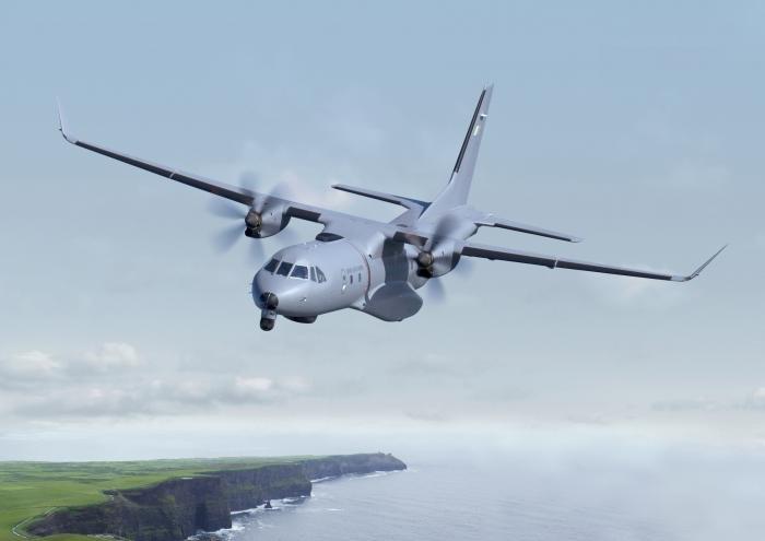 C295 with Irish Air Corps Livery Graphic