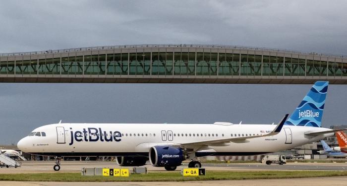 JetBlue at Gatwick