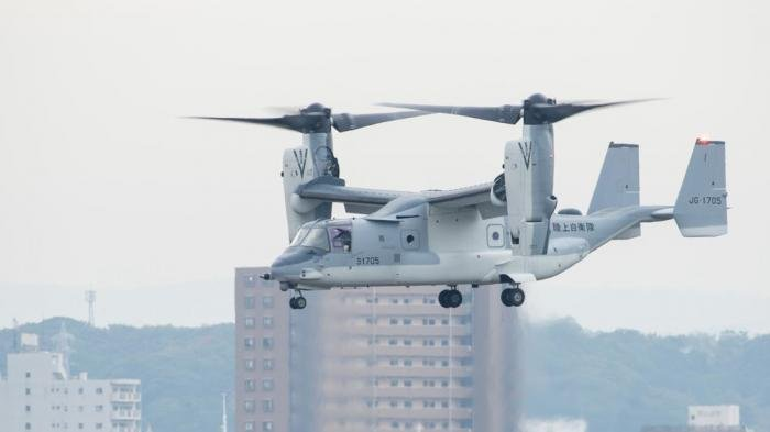 Japanese MV-22B Osprey [Japan Ground Self-Defense Force]