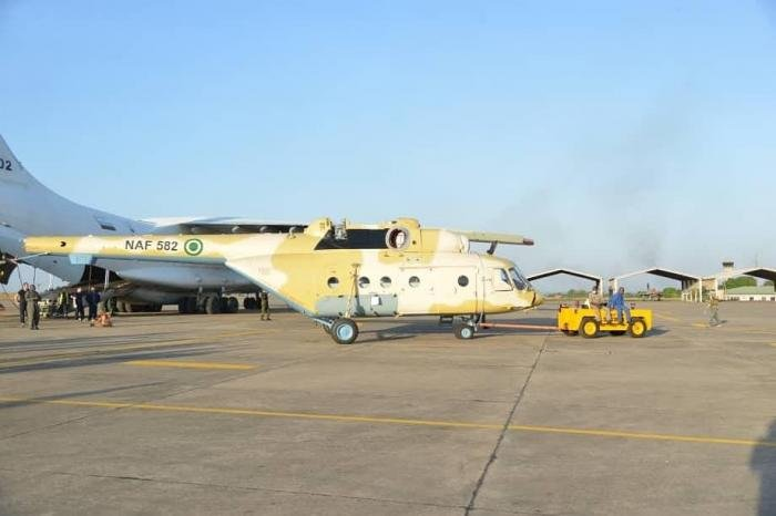 Mi-171E [Nigerian Air Force via Twitter]