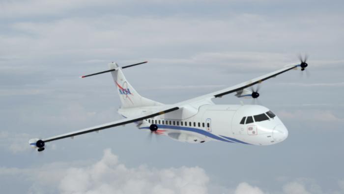 NASA advanced subsonic aircraft