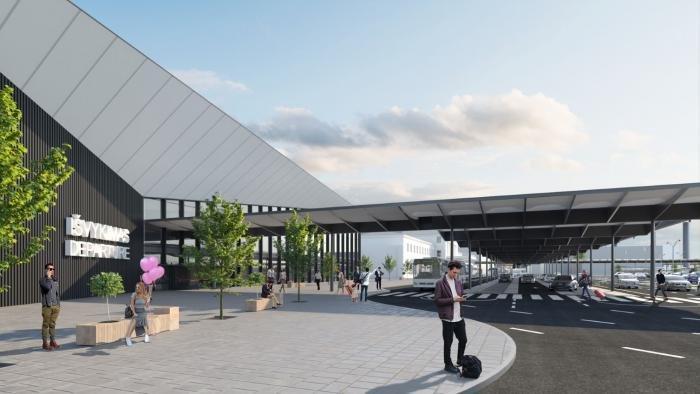 Vilnius Airport new international departures