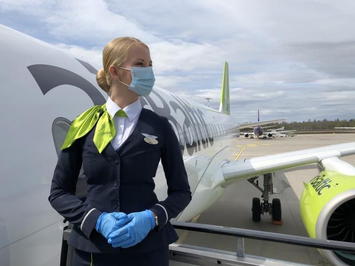 airBaltic COVID-safe flights