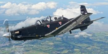RAF Texan flying