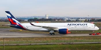 Aeroflot Airbus A350 Aircraft