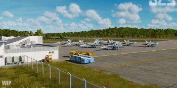 Mariana Islands Map for DCS World