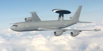Boeing E-3D Sentry AEW1 military aircraft