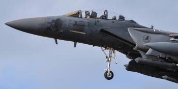 Strike Eagle Fighter Jet