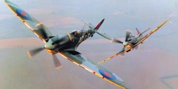 The Spitfire in action