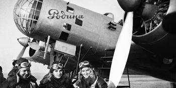 All female flight crew