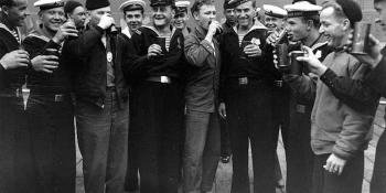 US-Soviet Soldiers VJ Day