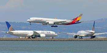 Airbus A350, Boeing 787 and 777