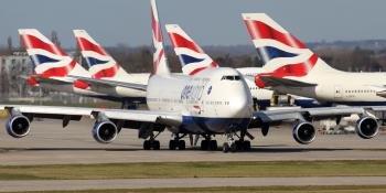 BA 747s