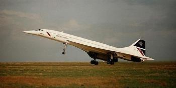 Concorde take-off