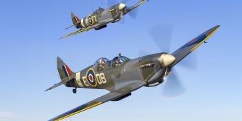 Spitfire T.9 NH341 Elizabeth