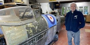 Peter Arnold writes about Spitfires for Flypast