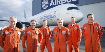 Airbus test pilots